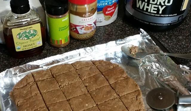 No Bake Peanut Butter ProteinCookies!