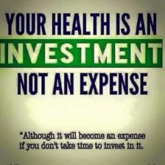 Your-health is an Investment